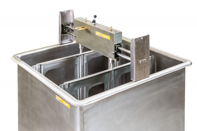 #Cheese Vat with Pneumatic Stirrer